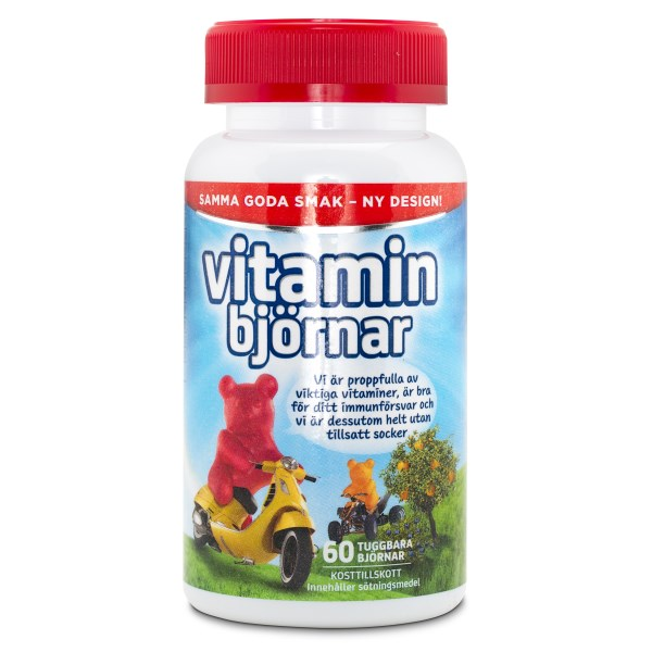 Active Care Vitaminbjörnar 60 st.