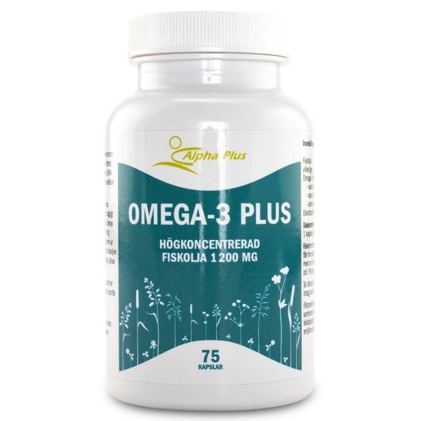 Alpha Plus Omega-3 Plus 75 kaps