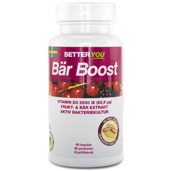 Better You Bär Boost 60 kaps