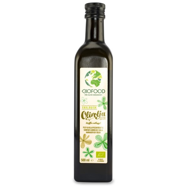 Biofood Olivolja Extra Virgin EKO 500 ml