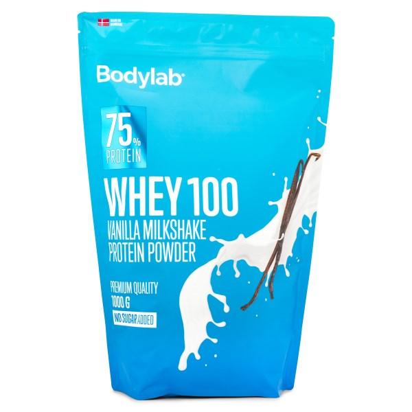 Bodylab Whey 100 Vanilla Milkshake 1 kg