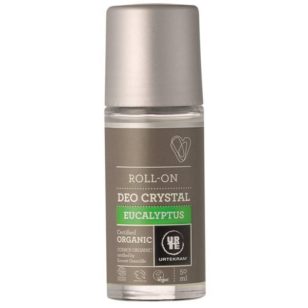 Urtekram Eucalyptus Deo Crystal Roll-On 50 ml