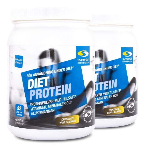 Diet Protein Choklad & vanilj 1050 g