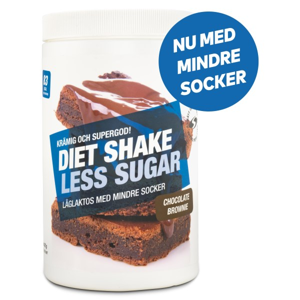 Diet Shake Less Sugar Chocolate Brownie 420 g