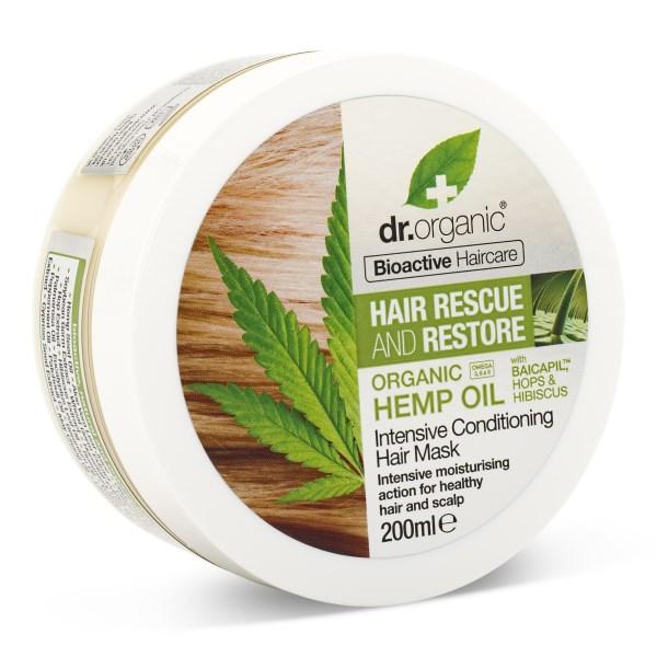 Dr Organic Hampaolja Hårinpackning 200 ml