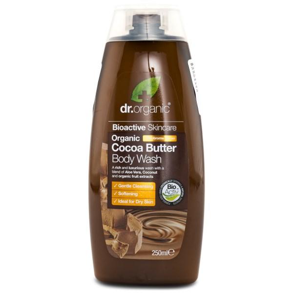 Dr Organic Kakaosmör Duschgel 250 ml