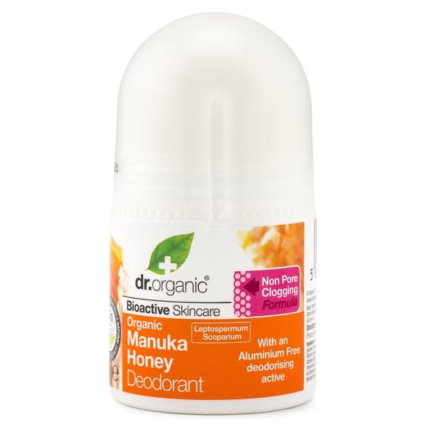 Dr Organic Manuka Honung Deodorant 50 ml