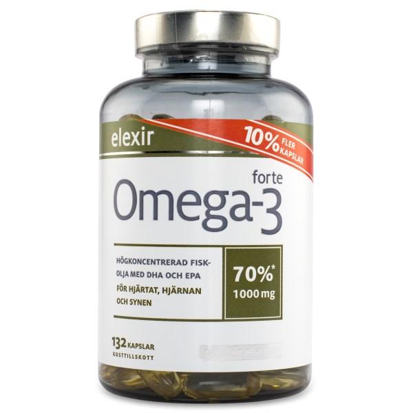 Elexir Omega-3 Forte 132 kaps