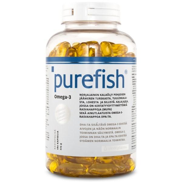 Elexir Pharma Purefish Omega-3 180 kaps