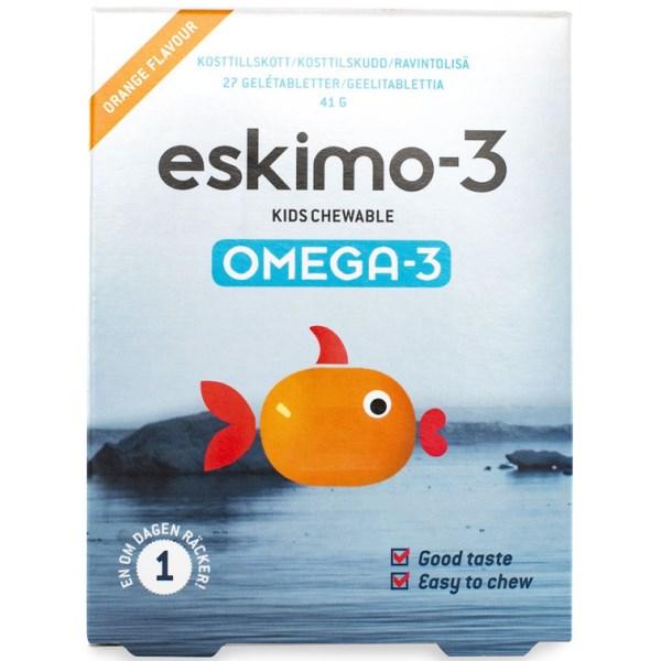 Eskimo-3 Kids Tuggtabletter 27 tabl