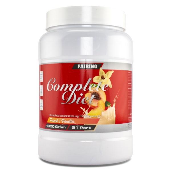 Fairing Complete Diet Persika/Vanilj 21 portioner
