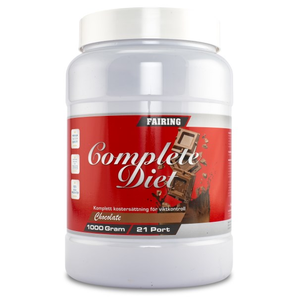Fairing Complete Diet Choklad 21 portioner