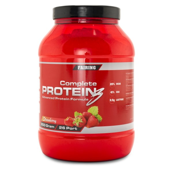 Fairing Complete Protein 3 Choklad/Toffee 900 g