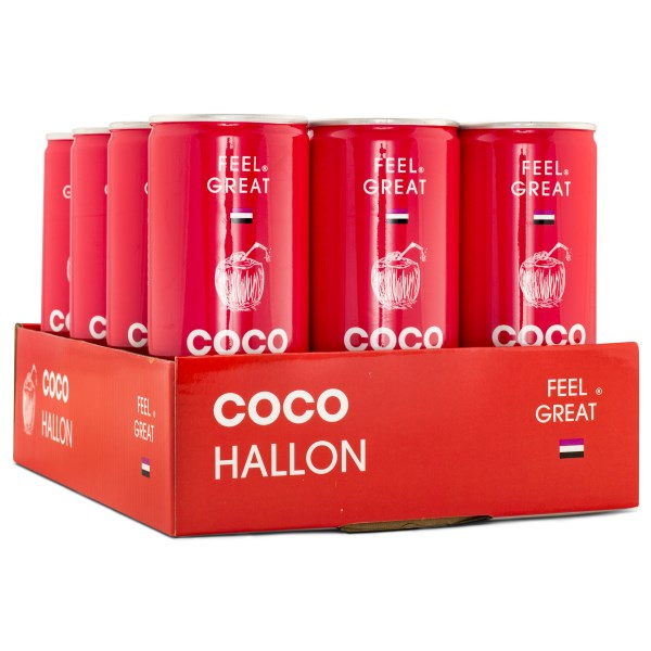 Feel Great Coco Hallon 12-pack