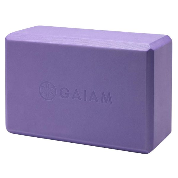 GAIAM Yoga Block 1 st Purple