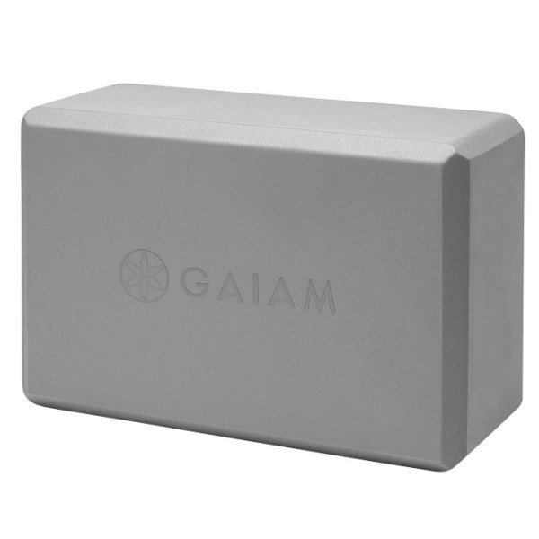 GAIAM Yoga Block 1 st Grey