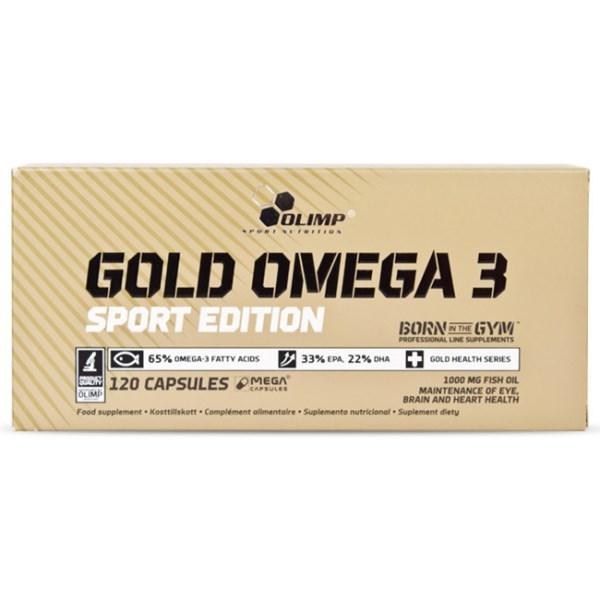 Olimp Gold Omega-3 Sport Edition 120 kaps