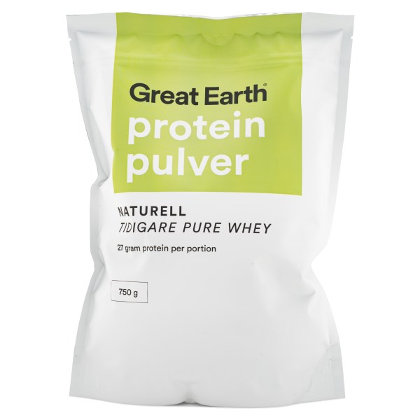 Great Earth Proteinpulver Naturell 750 g