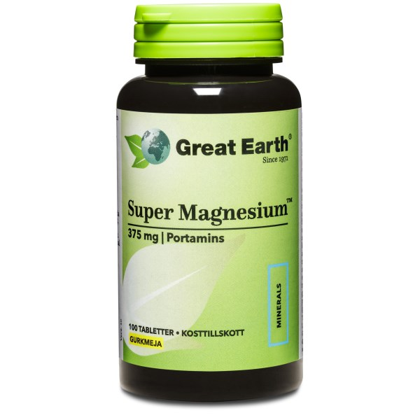 Great Earth Super Magnesium 100 tabl