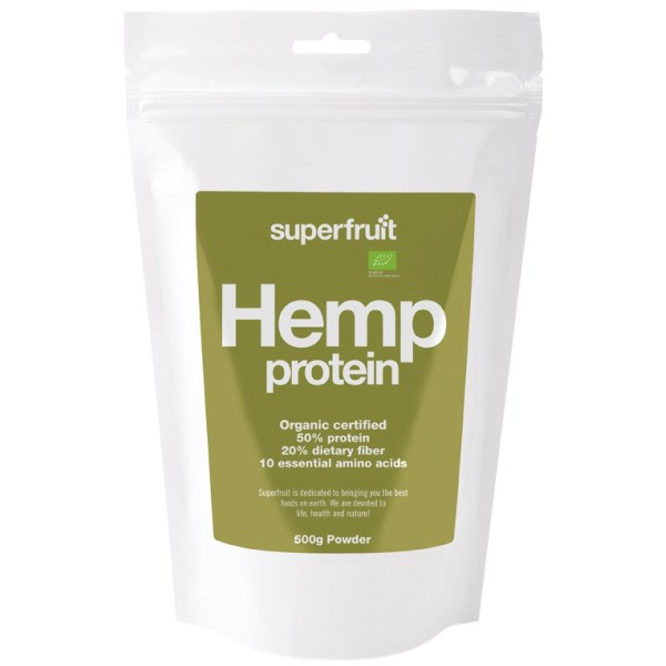 Superfruit Hampaprotein 500 g