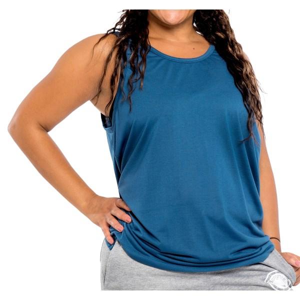 Hangmatta Loose Top M-L Blue