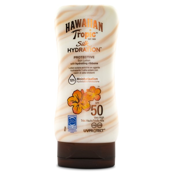 Hawaiian Tropic Silk Hydration Sun Lotion SPF 50 180 ml