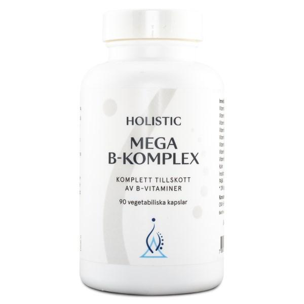 Holistic Mega B-komplex 90 kaps