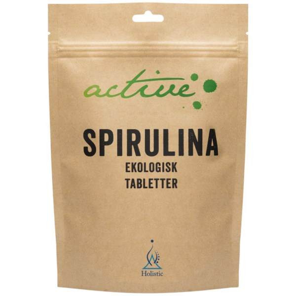 Holistic Active Spirulina Tabletter 250 tabl