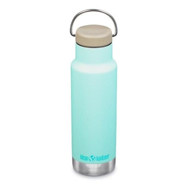 Klean Kanteen Classic Isolerad Flaska 1 st Blue Tint
