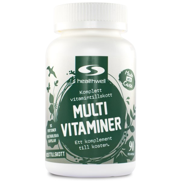 MultiVitaminer 90 kaps