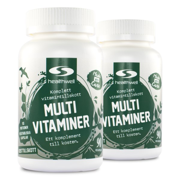 MultiVitaminer 180 kaps