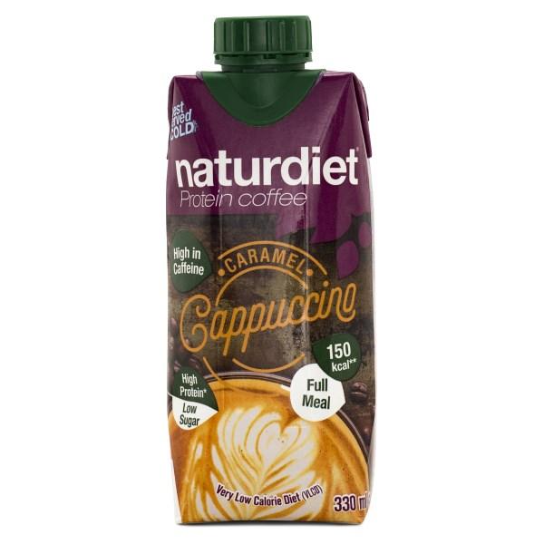 Naturdiet Shake Protein Coffee Cappucino 330 ml