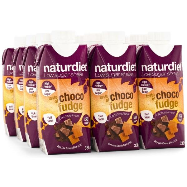 Naturdiet Shake Chocofudge 12-pack