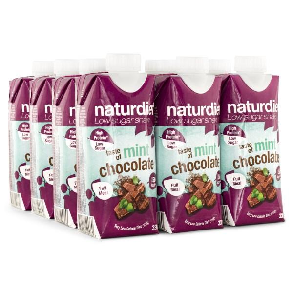 Naturdiet Shake Mintchoklad 12-pack