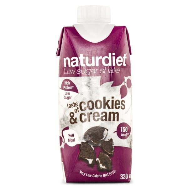 Naturdiet Shake Cookies and Cream 330 ml