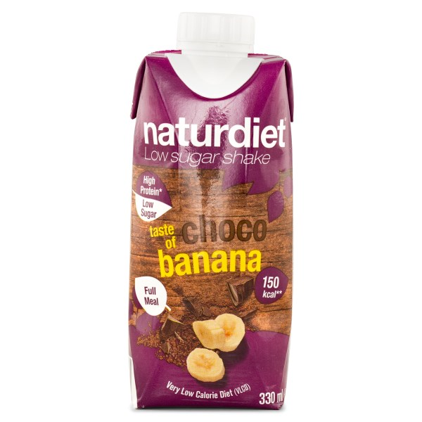 Naturdiet Shake Chocobanana 330 ml
