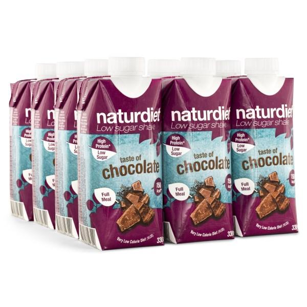 Naturdiet Shake Choklad 12-pack