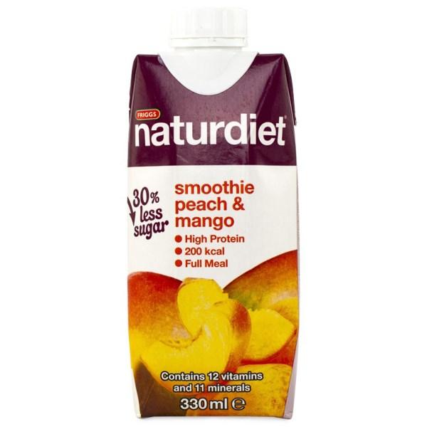 Naturdiet Smoothie Peach/mango 330 ml