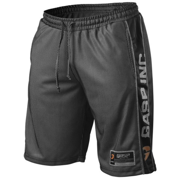 GASP No 1 Mesh Shorts L Black