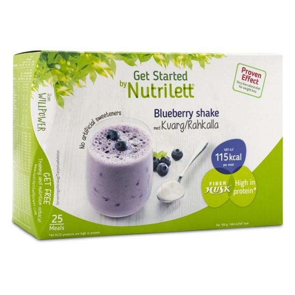 Nutrilett Kvarg Shake 25-pack 1 st Blueberry