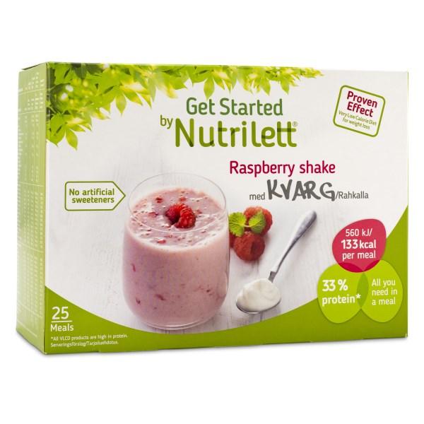 Nutrilett Kvarg Shake 25-pack 1 st Raspberry