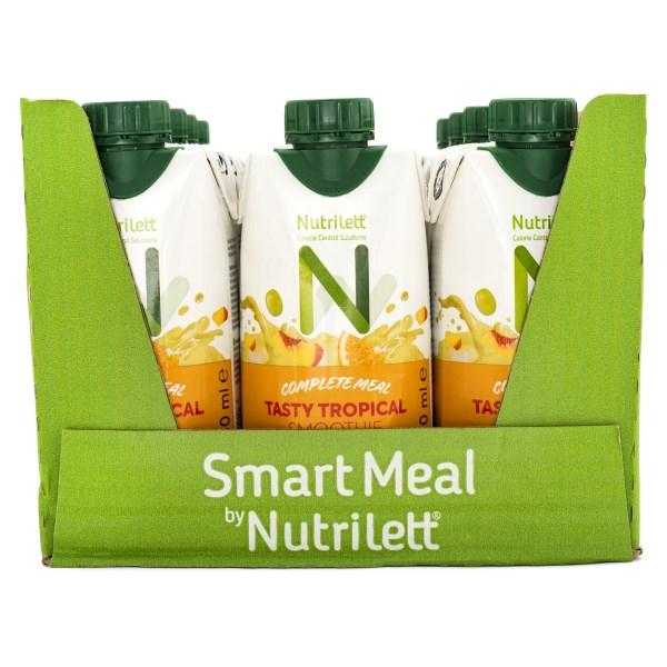 Nutrilett Less Sugar Smoothie Tasty Tropical 12-pack