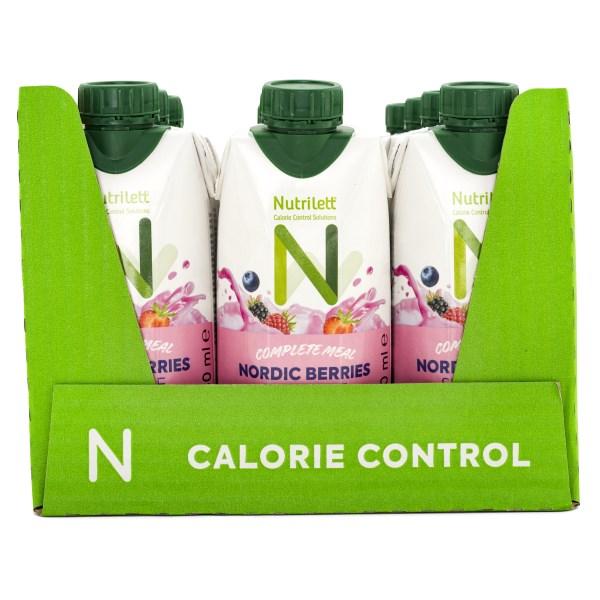 Nutrilett Less Sugar Smoothie Nordic Berries 12-pack