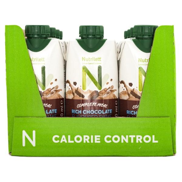 Nutrilett Less Sugar Smoothie Rich Chocolate 12-pack