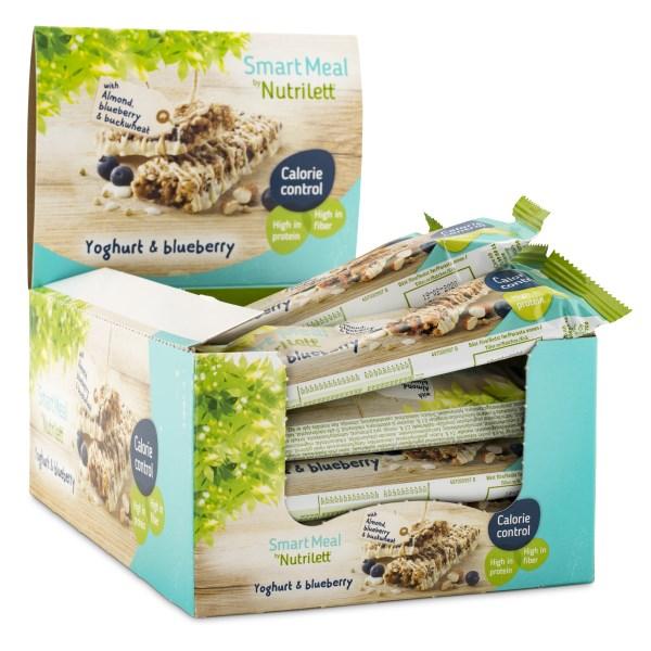 Nutrilett Smart Meal Bar Yoghurt & Blueberry 20-pack