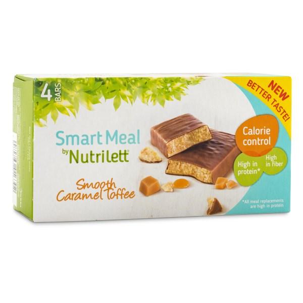 Nutrilett Smart Meal Bar 4-pack Smooth Caramel 4-pack