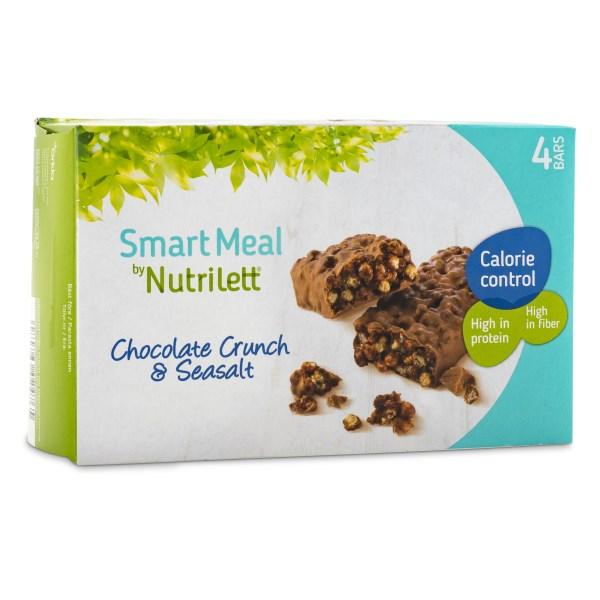 Nutrilett Smart Meal Bar 4-pack Chocolate crunch & Seasalt 4-pack