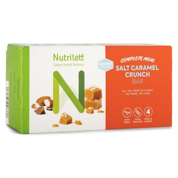 Nutrilett Smart Meal Bar 4-pack Salty Caramel Crunch 4-pack