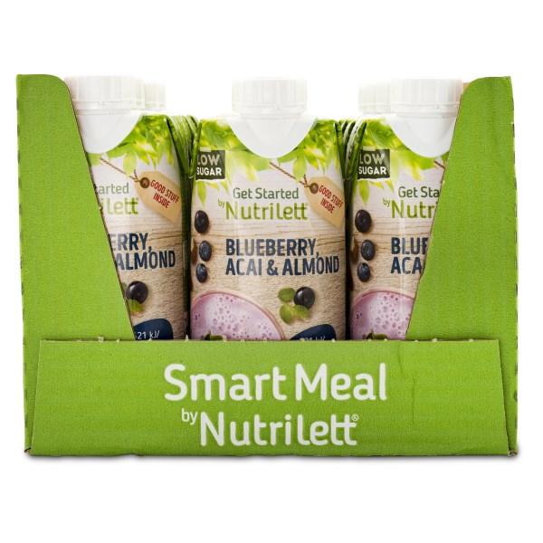 Nutrilett VLCD Smoothie Almond Milk Blueberry Acai 12-pack