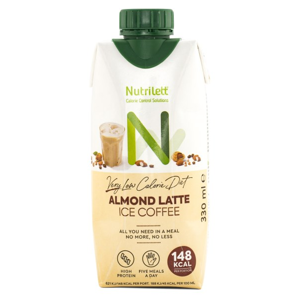 Nutrilett VLCD Smoothie Ice Coffee Almond Latte 1 st